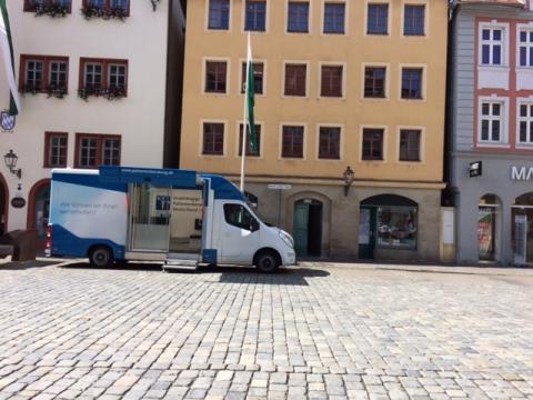 Beratungsmobil der Unabhängigen Patientenberatung kommt am 8. Februar nach Ansbach.