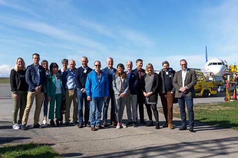 Matavfall lyfter flyget i Östersund