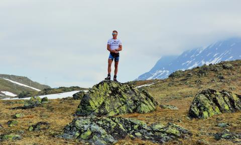 Landslagstrener Egil Kristiansen på Sognefjellet