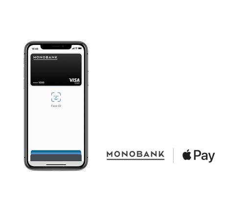 Monobank lanserer Apple Pay for sine kunder
