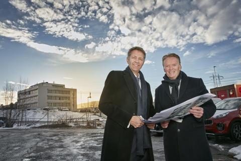 Bertel O. Steen vil doble i eiendom