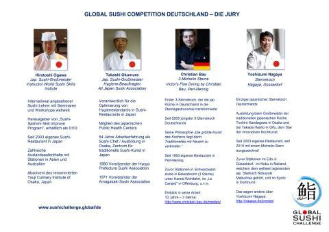 Die hochkarätige Jury des deutschen Halbfinales