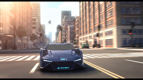 Audi RSQ e-tron (konceptbil til animationsfilmen Spies in Disguise)