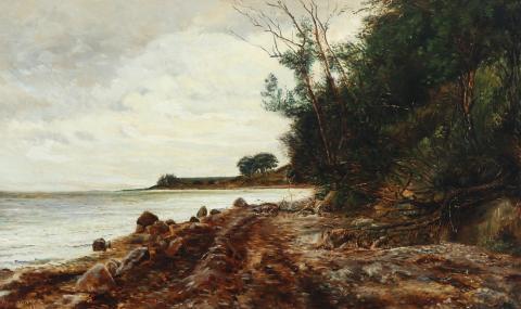 Janus la Cour: Skrænten ved Helgenæs.
