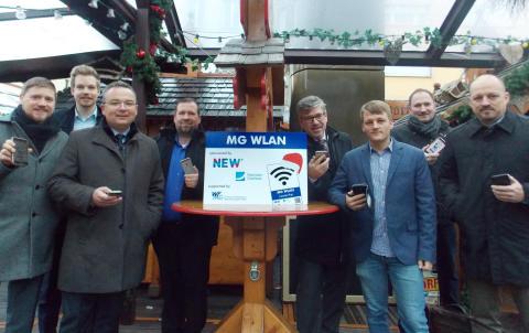 Freies WLAN auf den Weihnachtsmärkten in Mönchengladbach und Rheydt