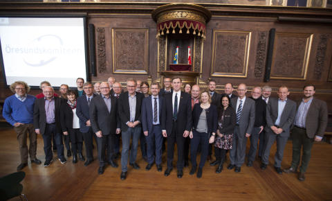 Öresundskomiteen bliver til The Greater Copenhagen & Skåne Committee