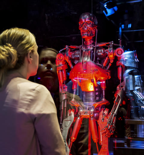 Robots från Science Museum i London