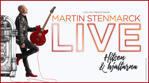 Martin Stenmarck ger extra föreställningar i Stockholm av pop- och rockshowen - Hitsen & Hjältarna!