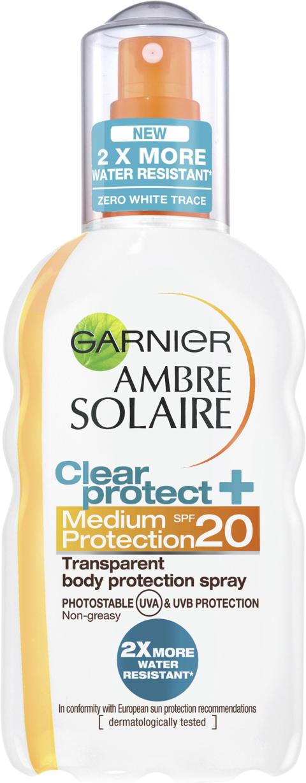 Garnier – Ambre Solaire solbeskyttelse