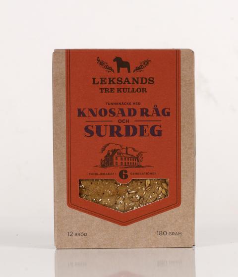 TRE KULLOR Knosad Råg och Surdeg