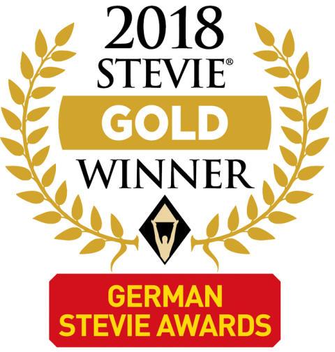 Zweimal GOLD für CreaLog: Münchner Systemhaus mit  German Stevie Awards 2018 ausgezeichnet