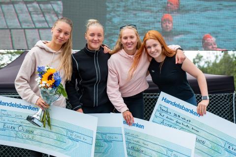 Ellen Olsson tog hem sin tredje raka seger i Vansbro Tjejsim