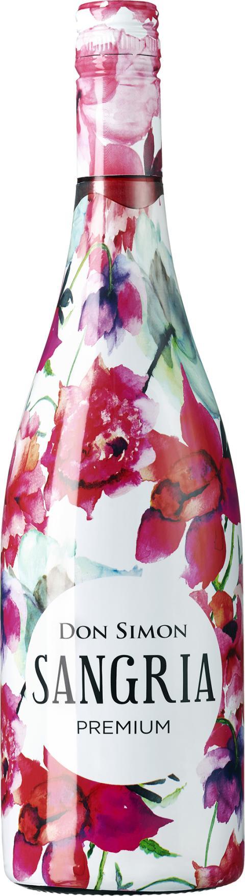 Don Simon Premium Sangria, flaskbild
