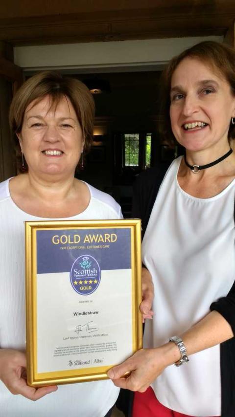 Striking Gold in the Scottish Borders