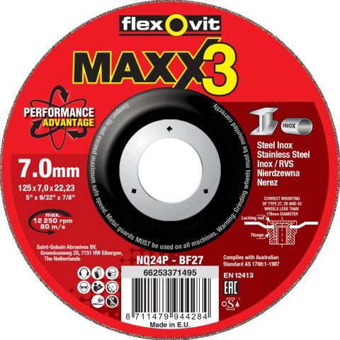 Flexovit MaXX 3 skrubskiver - Produkt 2