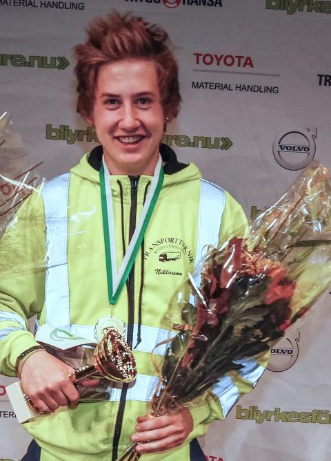 Vinnare Oliver Niklasson