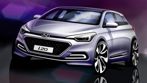 Sniktitt på Hyundais nye i20
