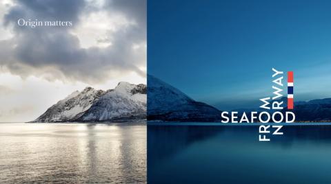 Nouvelle marque d'origine et profil pour les produits de la mer de Norvège