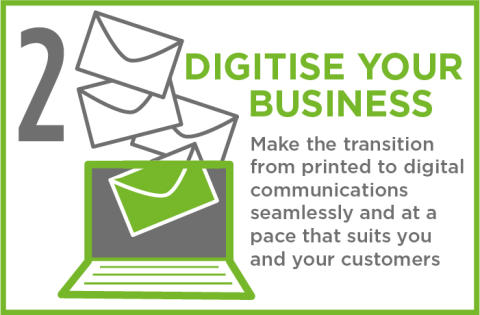 Reason 2 – Digitising your business, at your customers' pace