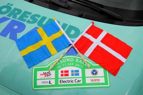 Elbilsrally Öresund runt i september