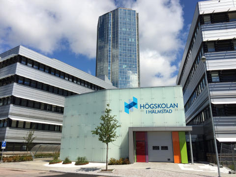 Elektronikcentrum i Halmstad (ECH) – exteriör (montage)