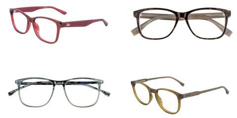 Specsavers slipper eksklusiv Lacoste-kolleksjon