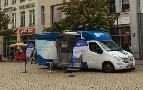 Beratungsmobil der Unabhängigen Patientenberatung kommt am 3. März nach Halberstadt.