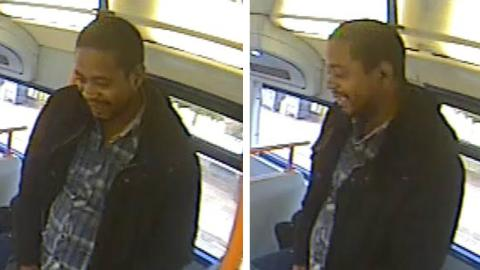 Man sought following indecent exposure on bus, Stratford