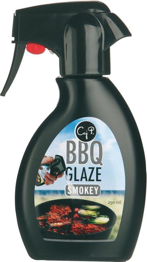 Caj P BBQ sprayglaze smokey
