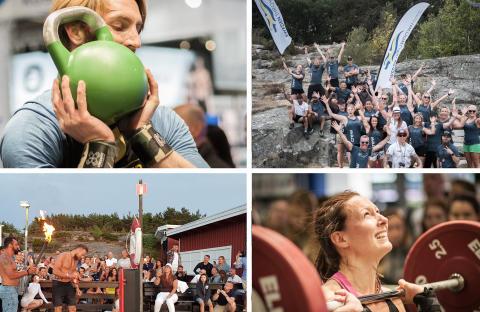 Crossfit-fest i unik miljö lockar hundratals atleter
