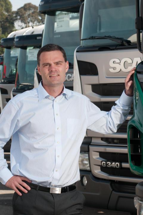 Adm. direktør hos Scania Danmark