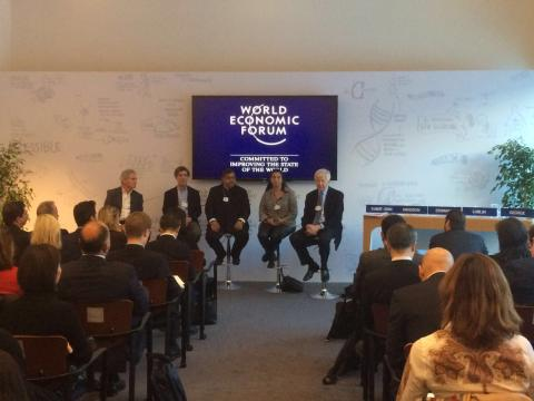 Dato Sri Vijay speaks on building mindful organisations at WEF in Davos