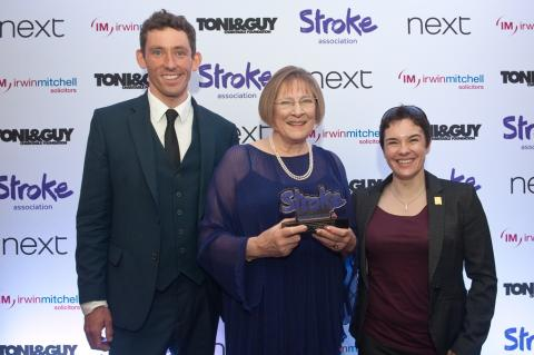 Maldon physiotherapist wins professional excellence award for services to stroke