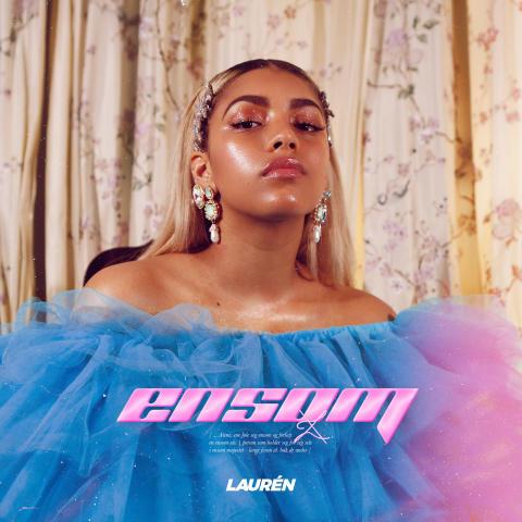 LAUREN - Ensom cover