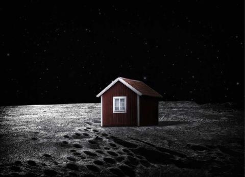 Svenska Månhuset är världens första konstprojekt på månen