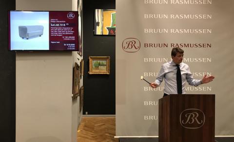 Danmarks dyreste sofa solgt for 610.000 kr.