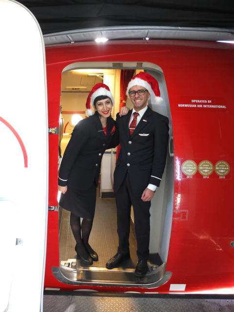 Norwegian's new direct route to Santa Claus takes off
