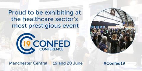 Finegreen exhibiting  at the NHS Confederation Annual Conference 2019