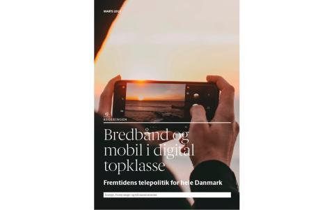 Regeringen med ambitiøst teleudspil: Alle danskere skal med på de digitale motorveje