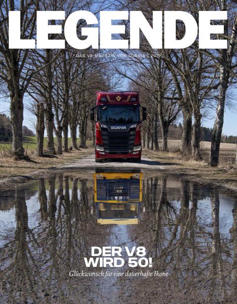 LEGENDE 2019 - Das V8-Magazin von Scania