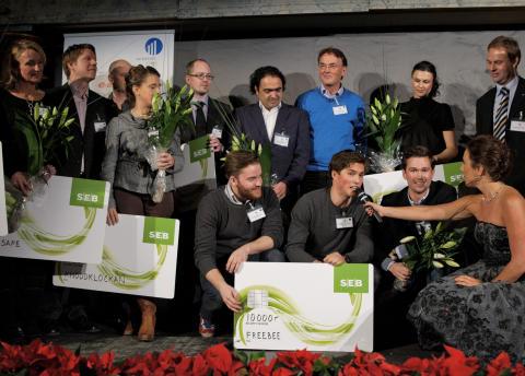 Hård konkurrens när de bästa affärsidéerna i Mellansverige utsågs
