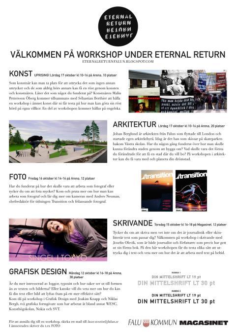 Eternal Return - affischer