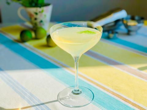 Ljuvlig sommardrink med Moscato d´Asti