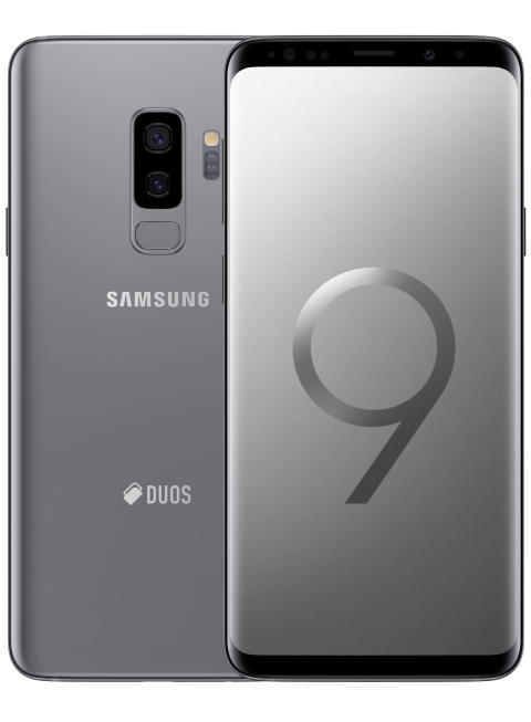Samsung Galaxy S9+ Titanium Gray (256GB)_front_back