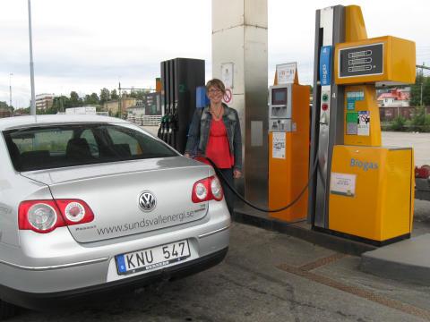 Hur tänkte umeåbon Anna då hon köpte gasbil, egentligen?