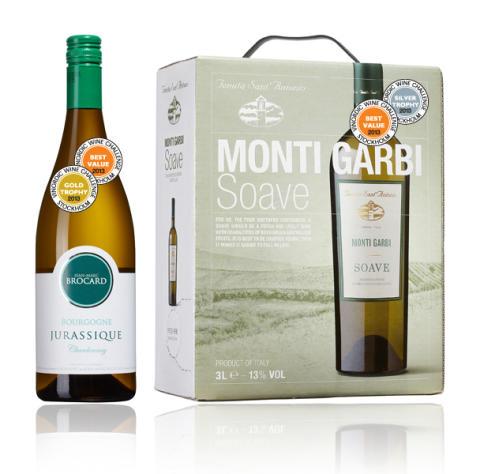 Vinnarviner i Vinordic Wine Challenge