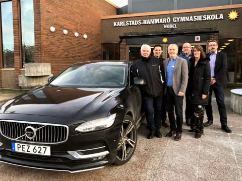 Pressinbjudan: Invigning av Nobelgymnasiets samarbete med Volvo och Helmia