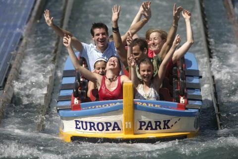 Hundra procent familjenöje i sydtyska Europa-Park