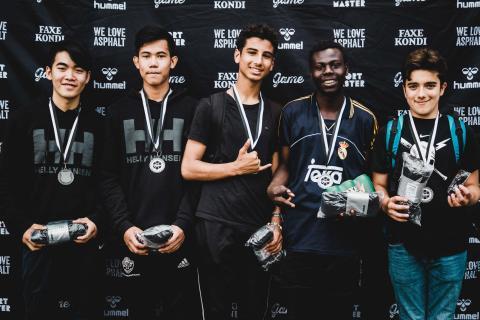 GAME Finals '17 Sølvvinder gadefodbold 15-17 år: FC Brof fra Esbjerg