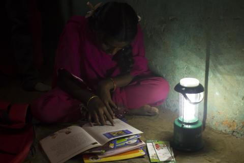 Tänd ljuset för barnen i Indien